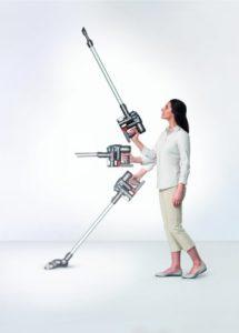 Dyson Digital Handhabung Beweglichkeit