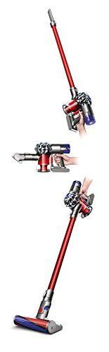 Dyson V6 Total Clean (Handstaubsauger, Digitaler Motor, 350 W, 2 Saugstufen, 20min Laufzeit, Nickel-Mangan-Cobalt Akku, Nachmotorfilter, für Teppich und Hartboden, inkl. Zubehör) - 6