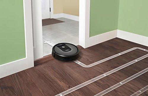 iRobot Roomba 960 Staubsaug-Roboter (systematische Navigation, App) silber - 10