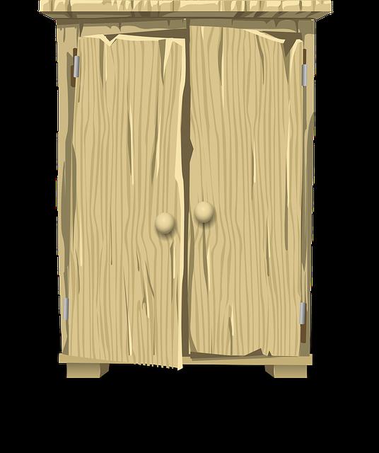 Holz unter Schrank um besser saugen zu können